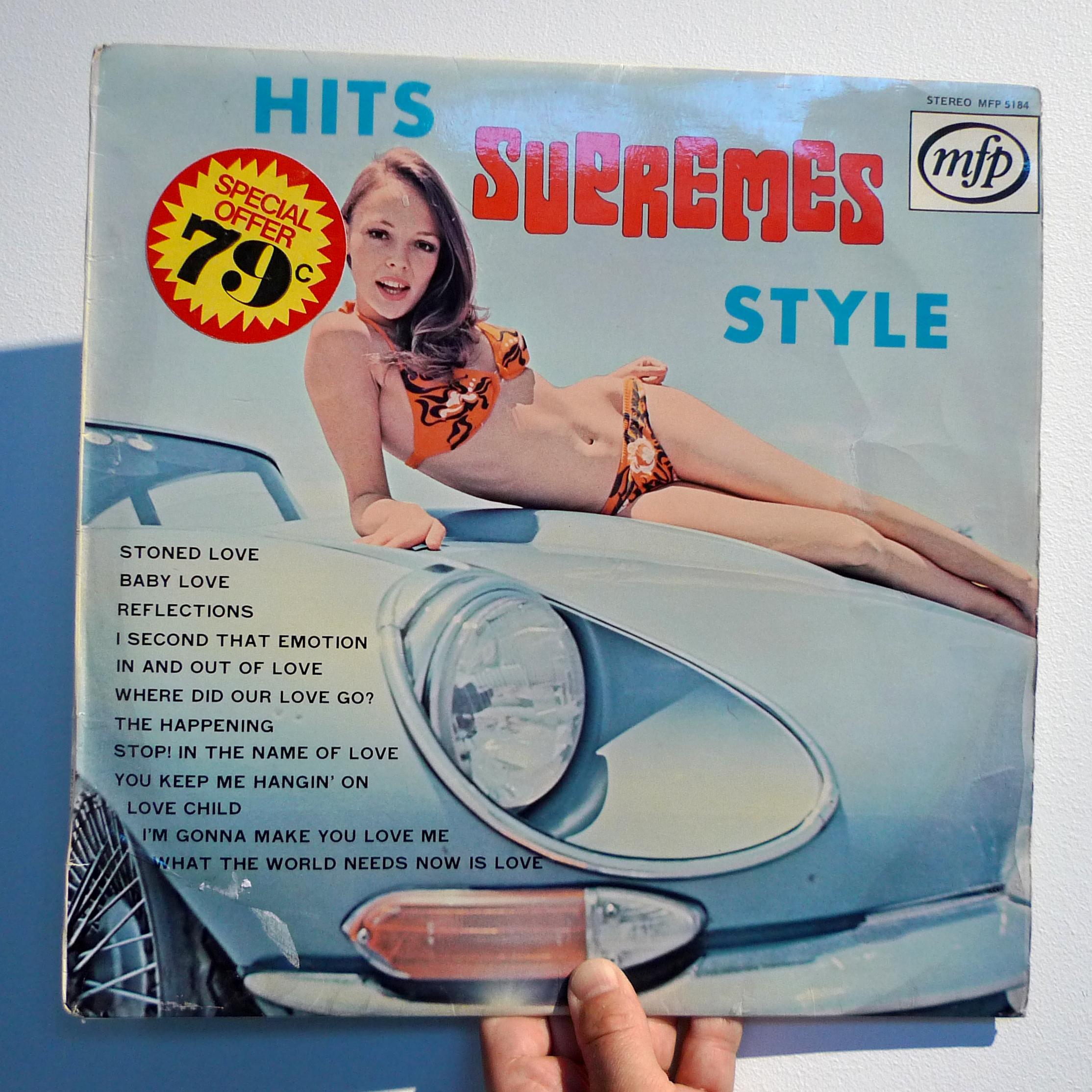 dj50s ep028 sleeve hits supreme style