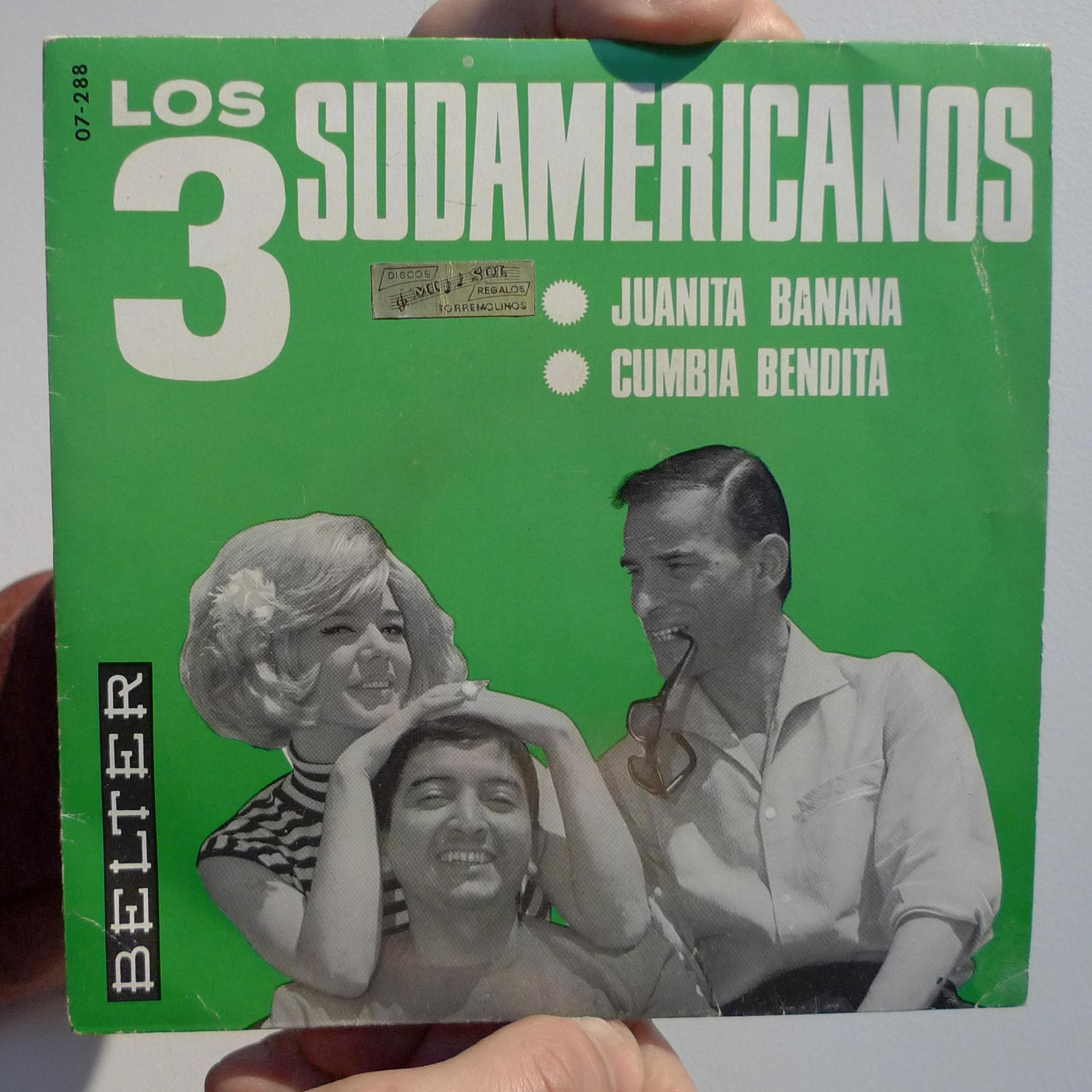 dj50s ep029 sleeve los3 sudamericanos