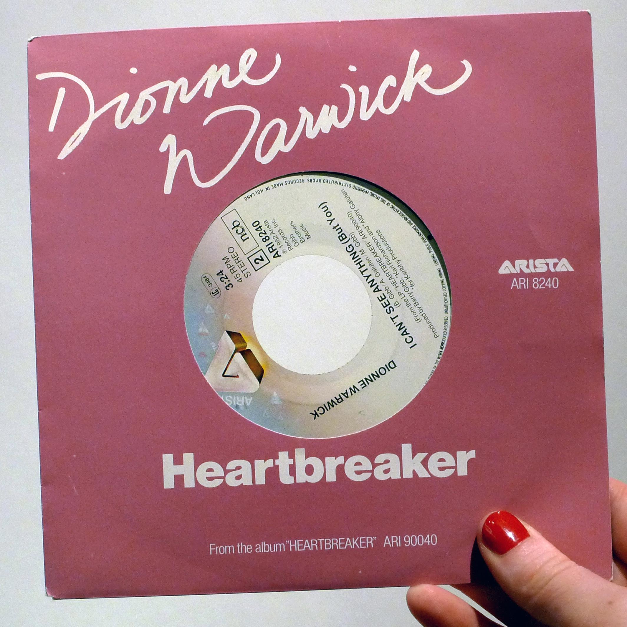dj50 ep078 sleeve DionneWarwick Heartbreaker