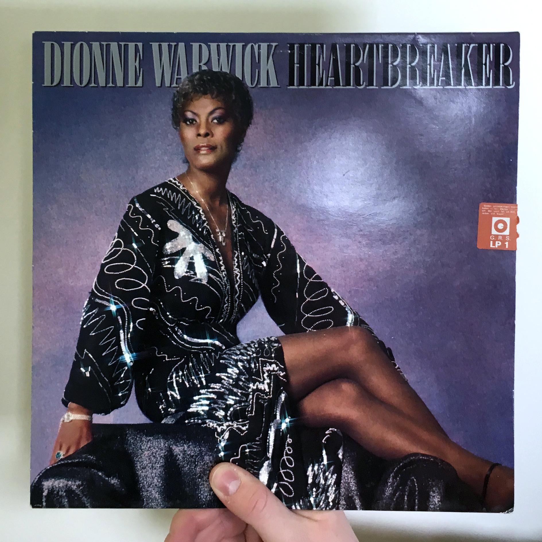dj50s ep085 sleeve dionnewarwick heartbreaker