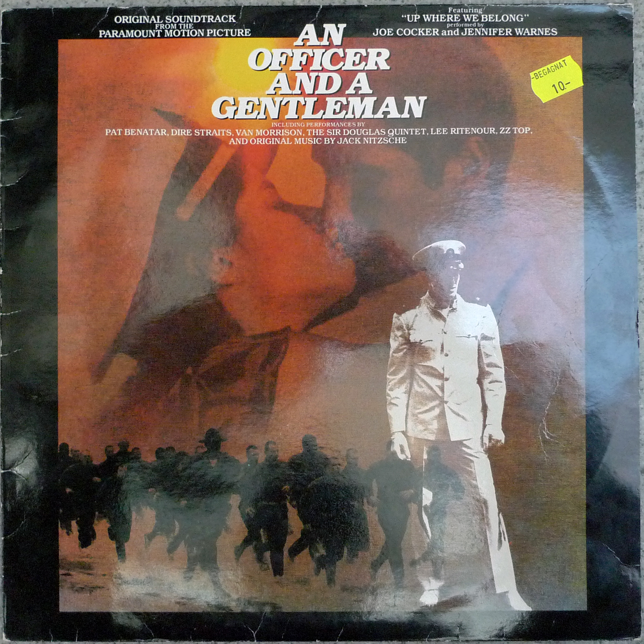 dj50s ep087 sleeve officer and a gentleman OST