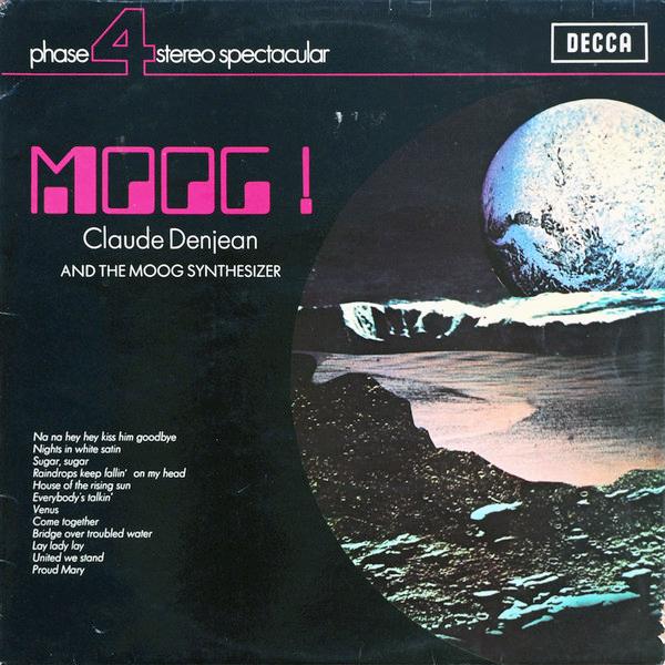 Claude Denjean – Moog!