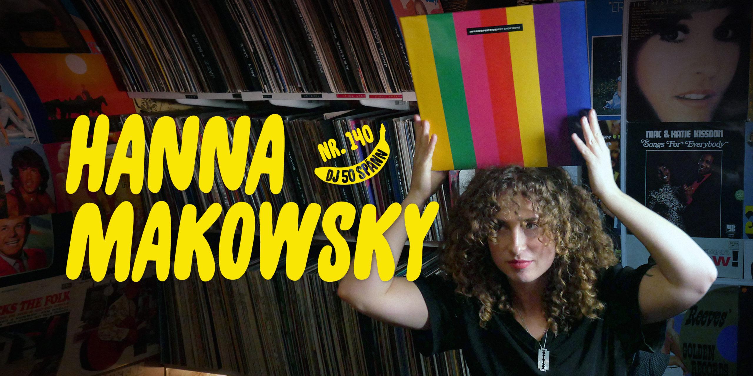 DJ50:- nr 140 med Hanna Makowsky
