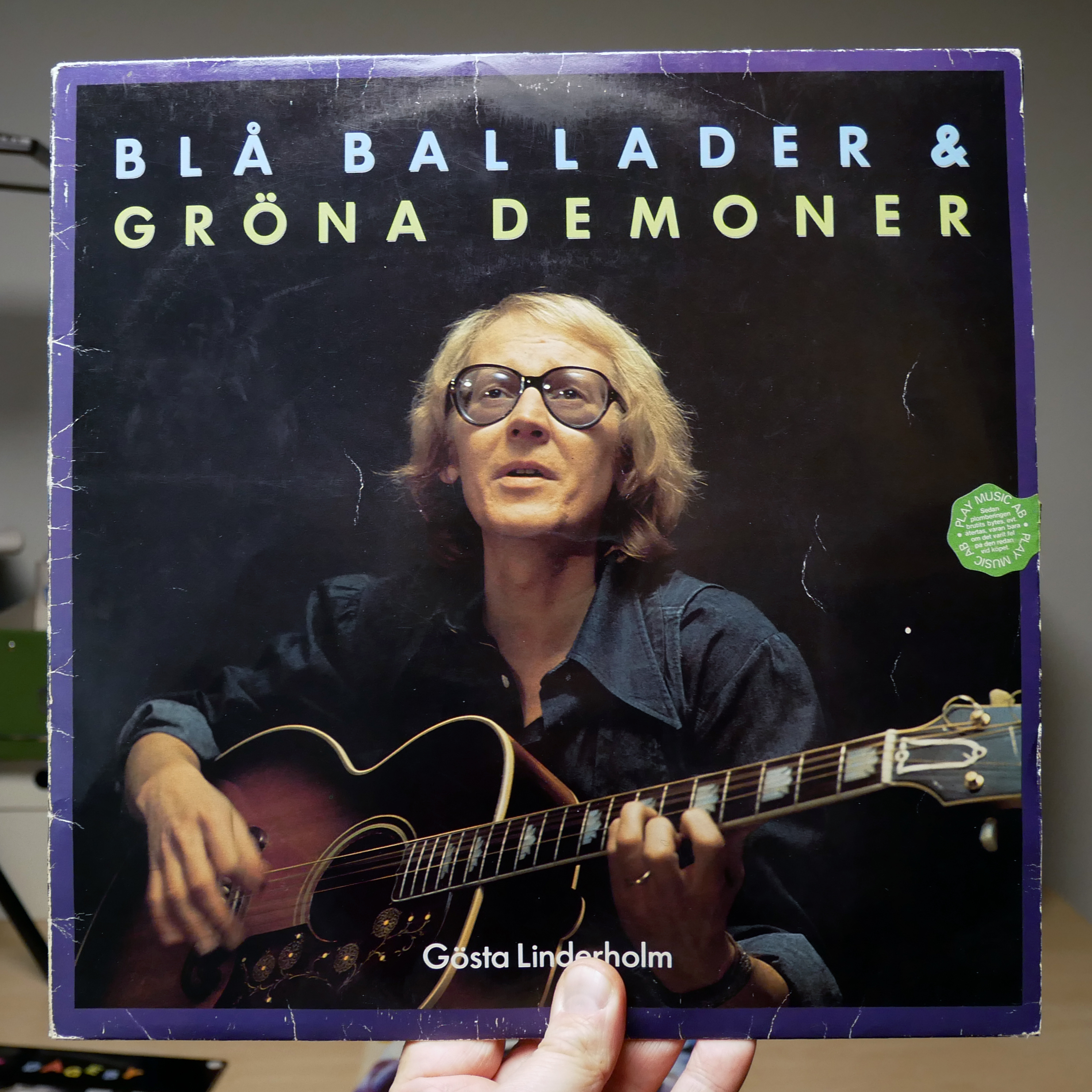 Gösta Linderholm –Blå ballader & Gröna demoner