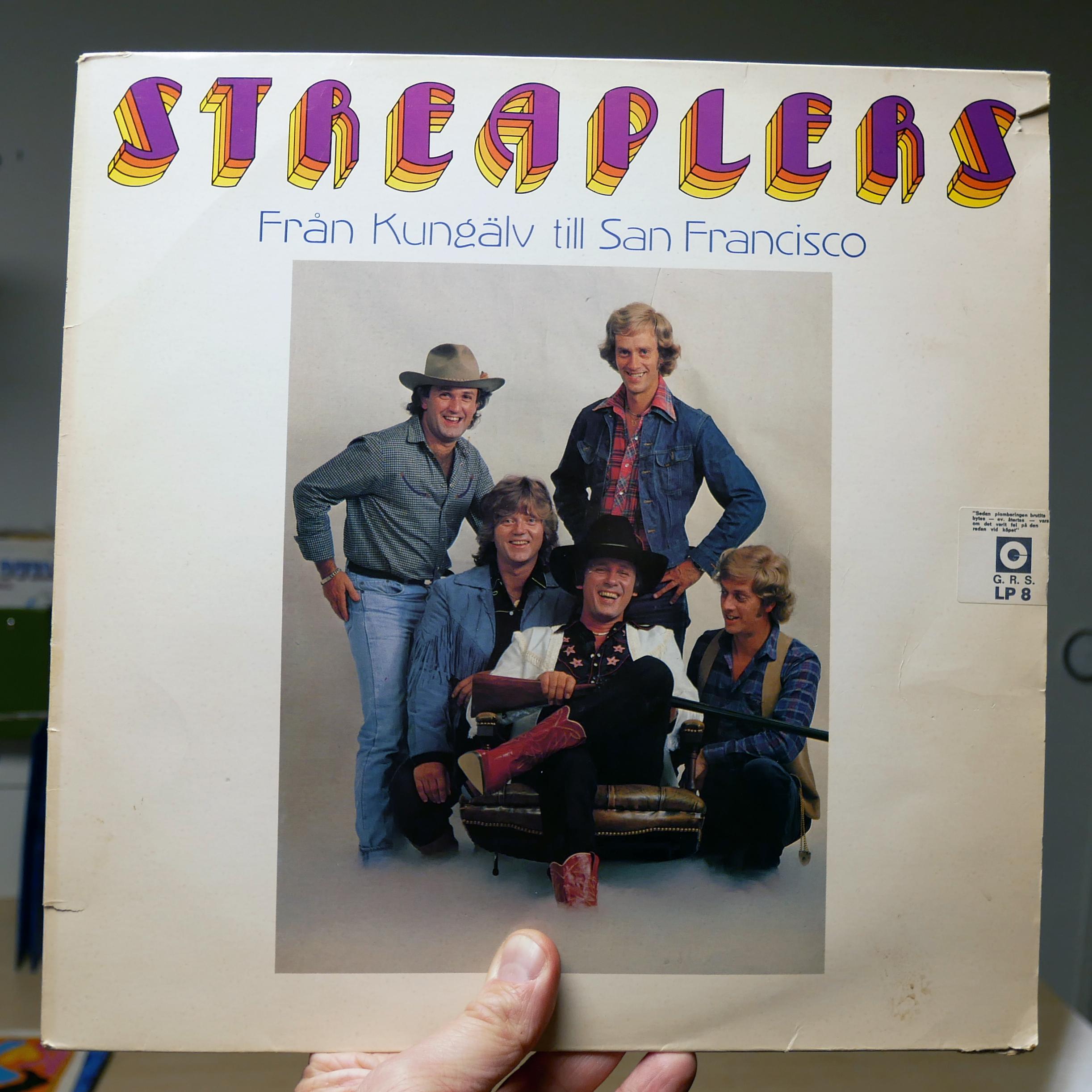 Streaplers –Från Kungälv till San Francisco