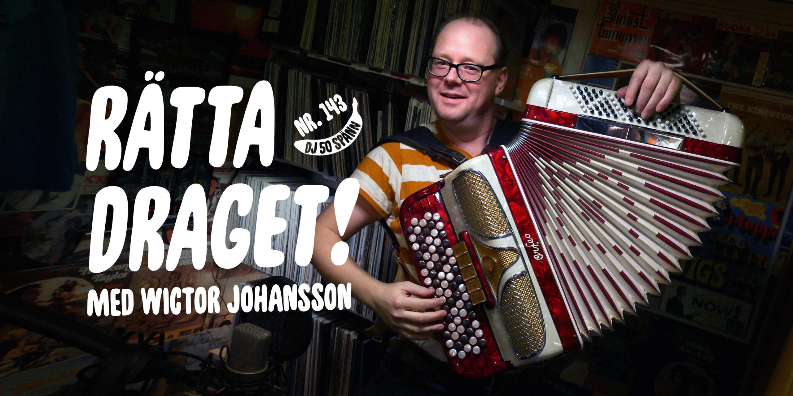 DJ50:- nr 143 med Wictor Johansson