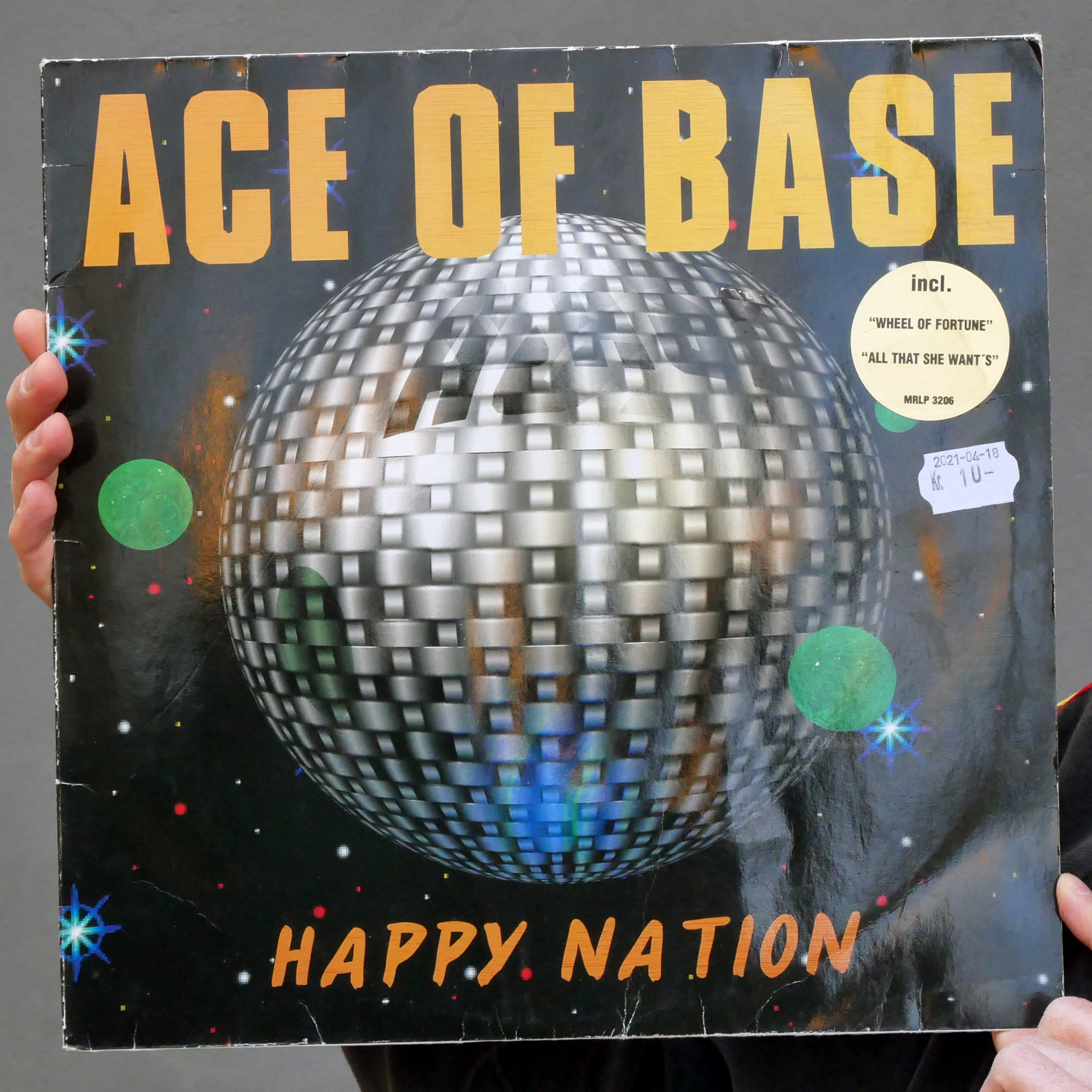 Ace of Base –Happy Nation [LP, 1992]