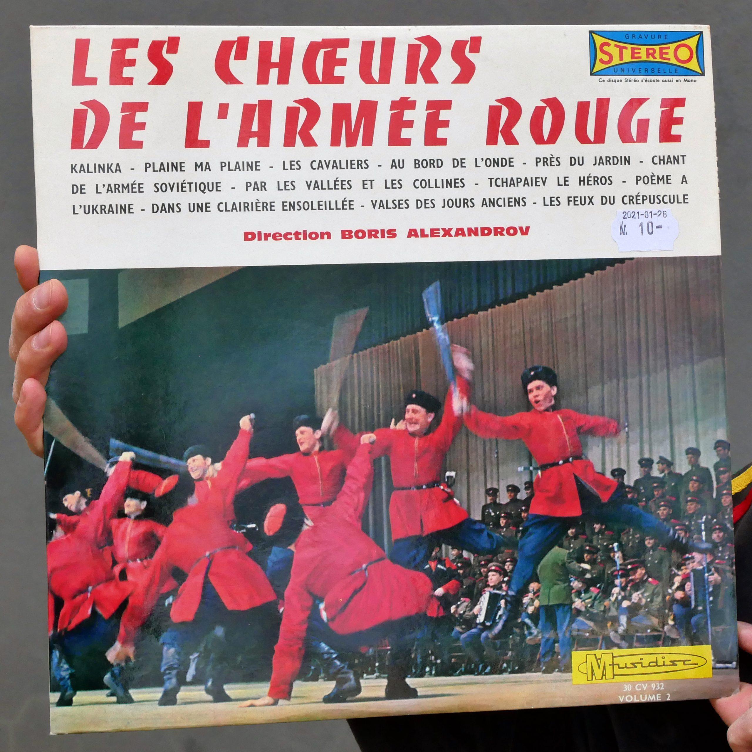 Les Chœurs de L'Armée Rouge – S/T [LP, 1974]