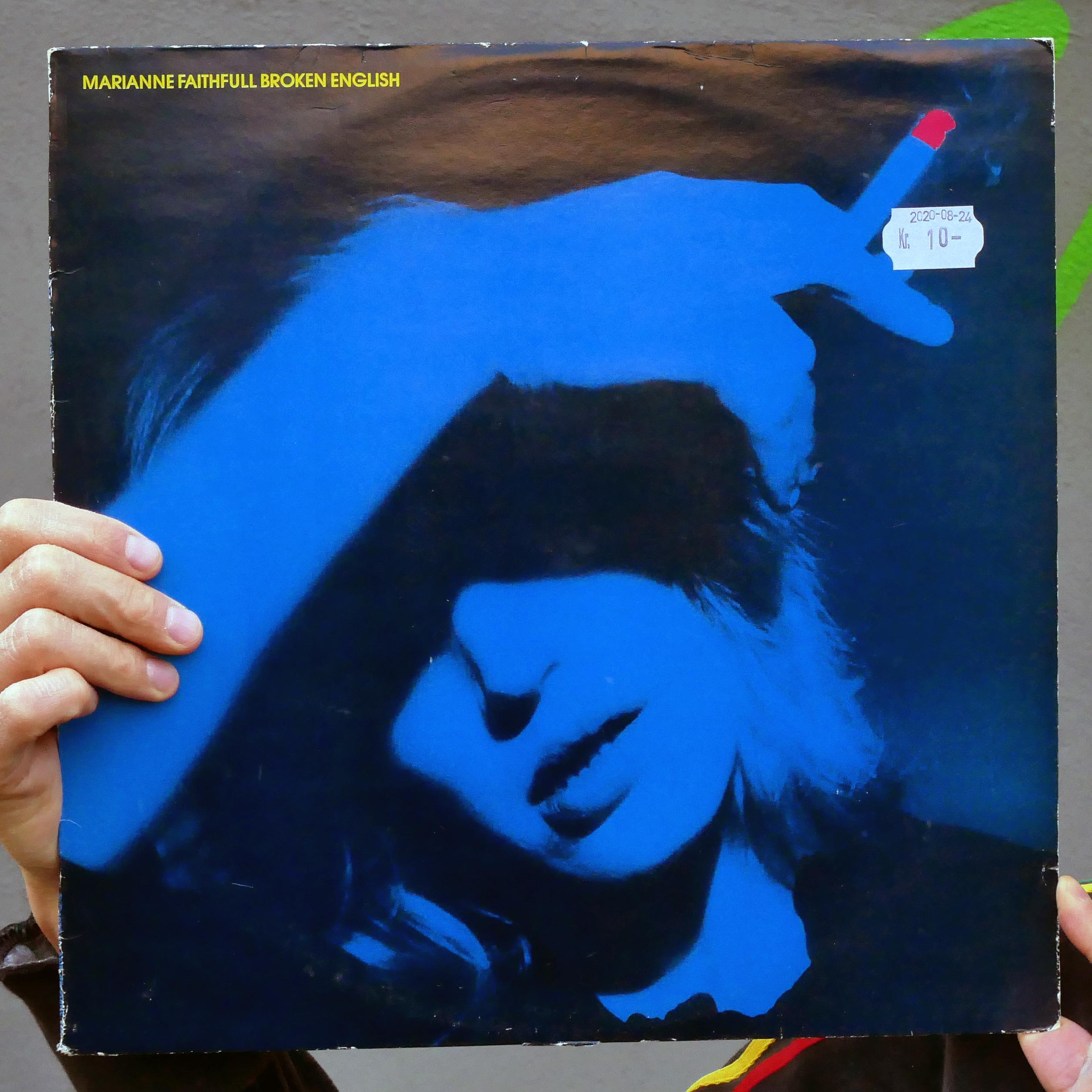 Marianne Faithfull –Broken English [LP, 1979]