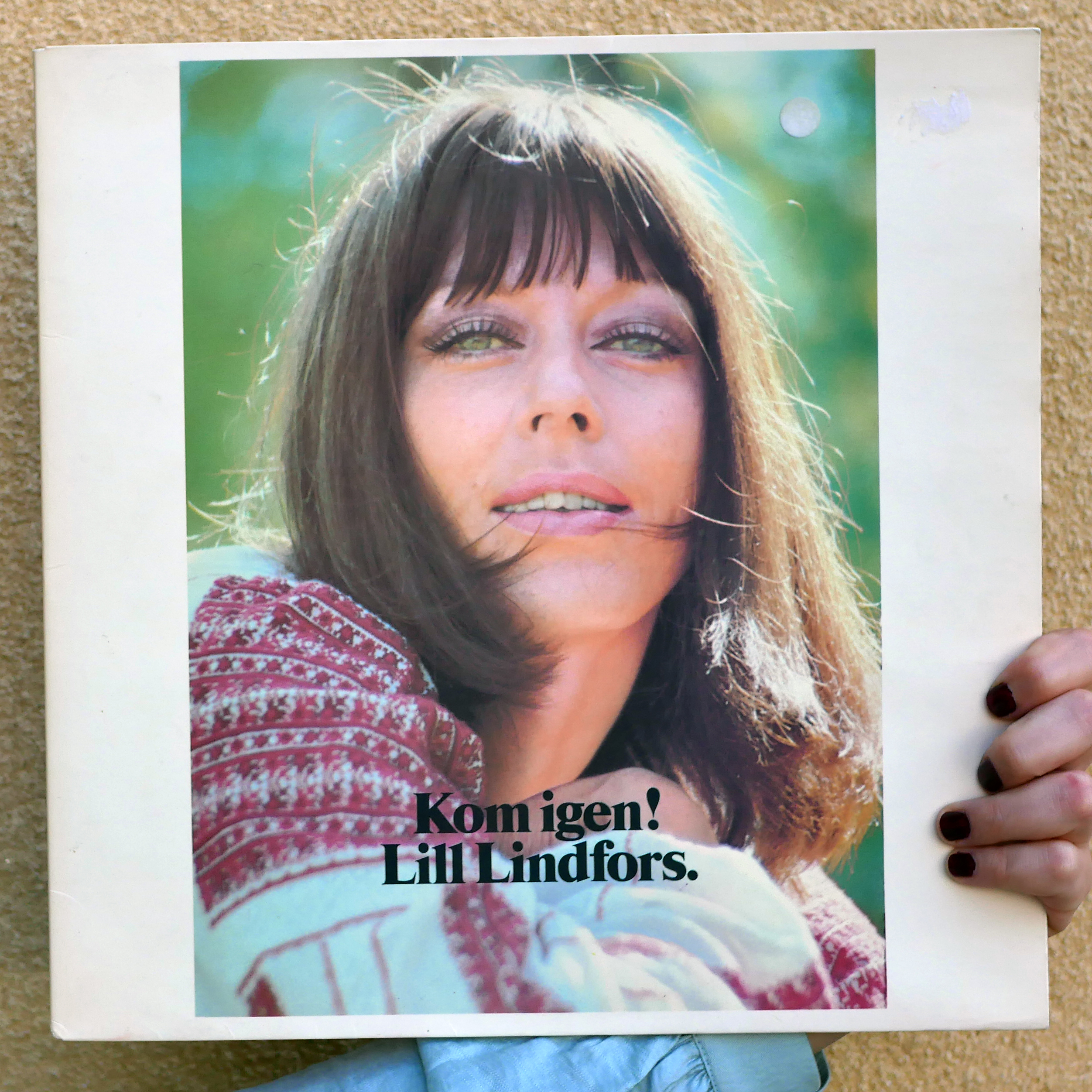 Lill Lindfors –Kom igen! [LP, 1973]