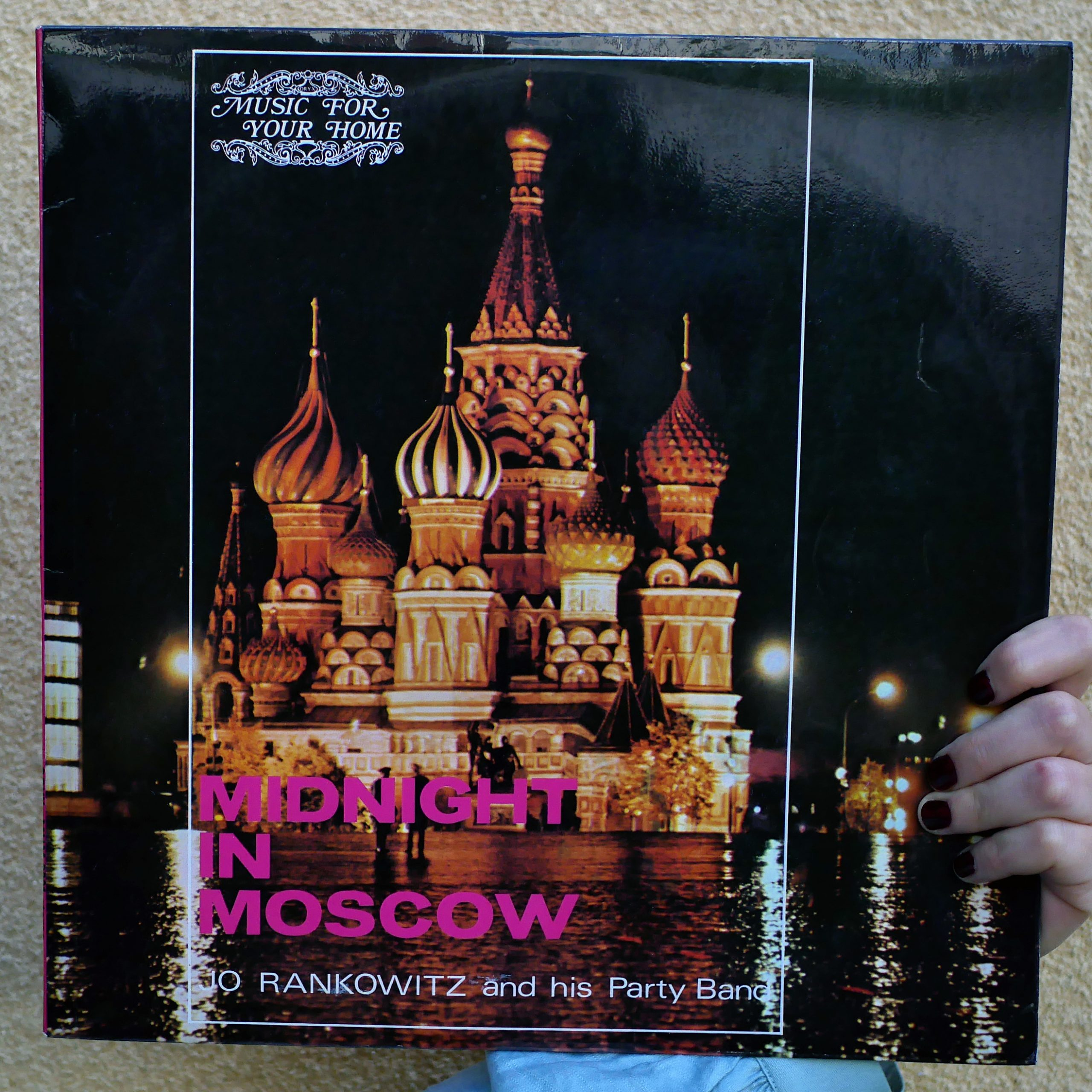 Jo Rankowitz and his Party Band – Midnight in Moscow [LP]