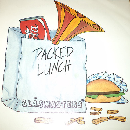 """Blåsmasters – Packed Lunch [7"""", 1983]"""