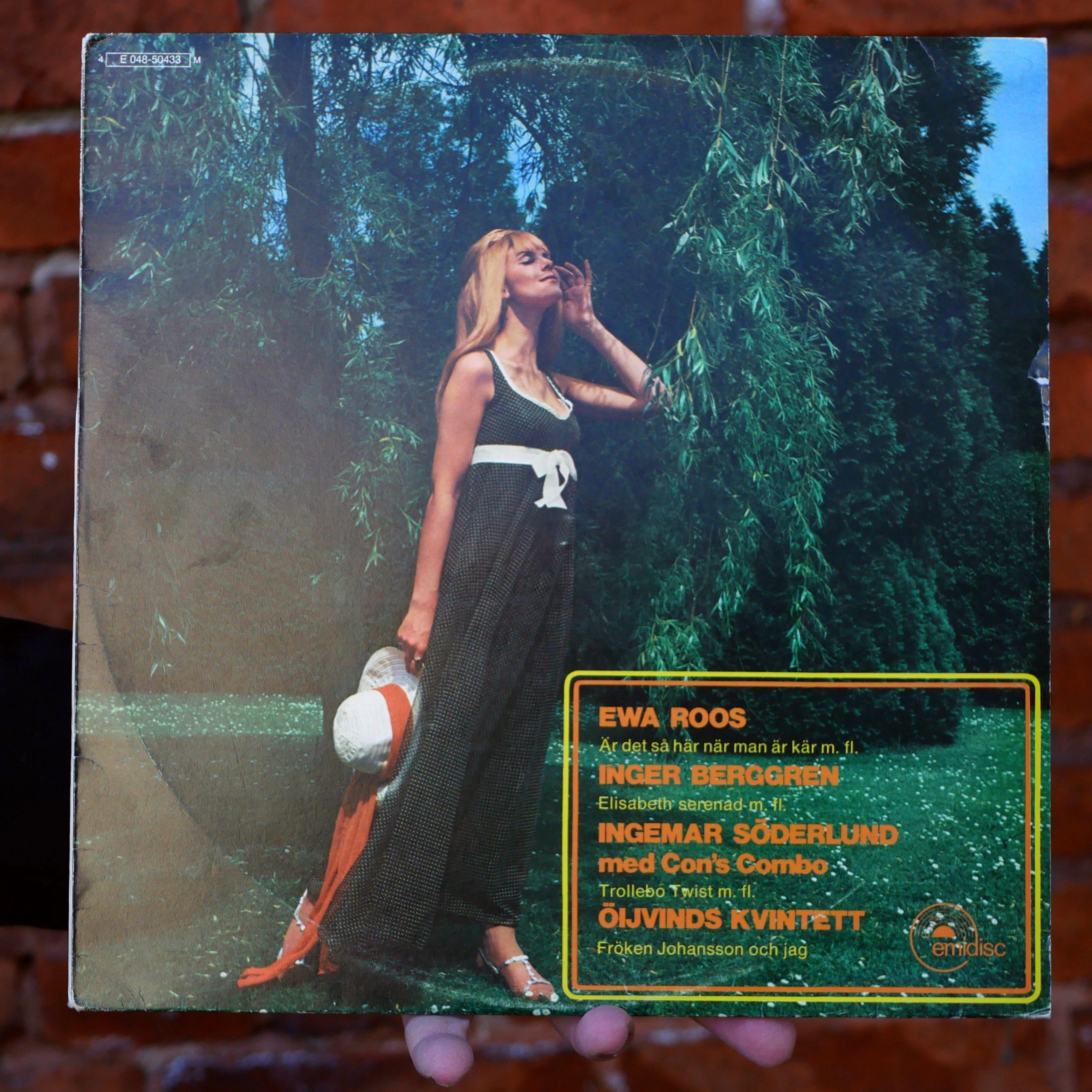 Diverse artister –Ewa Roos, Inger Berggren, Ingemar Söderlund med Con's Combo, Öijvinds kvintett [LP, 1971]