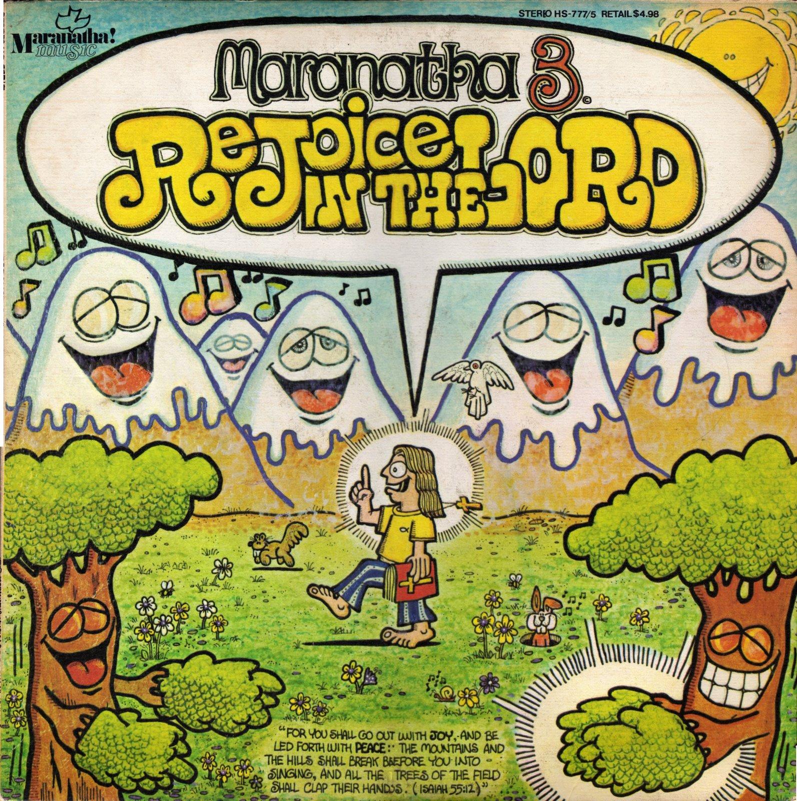 Diverse artister –Maranatha 3. Rejoice in the Lord [LP, 1973]