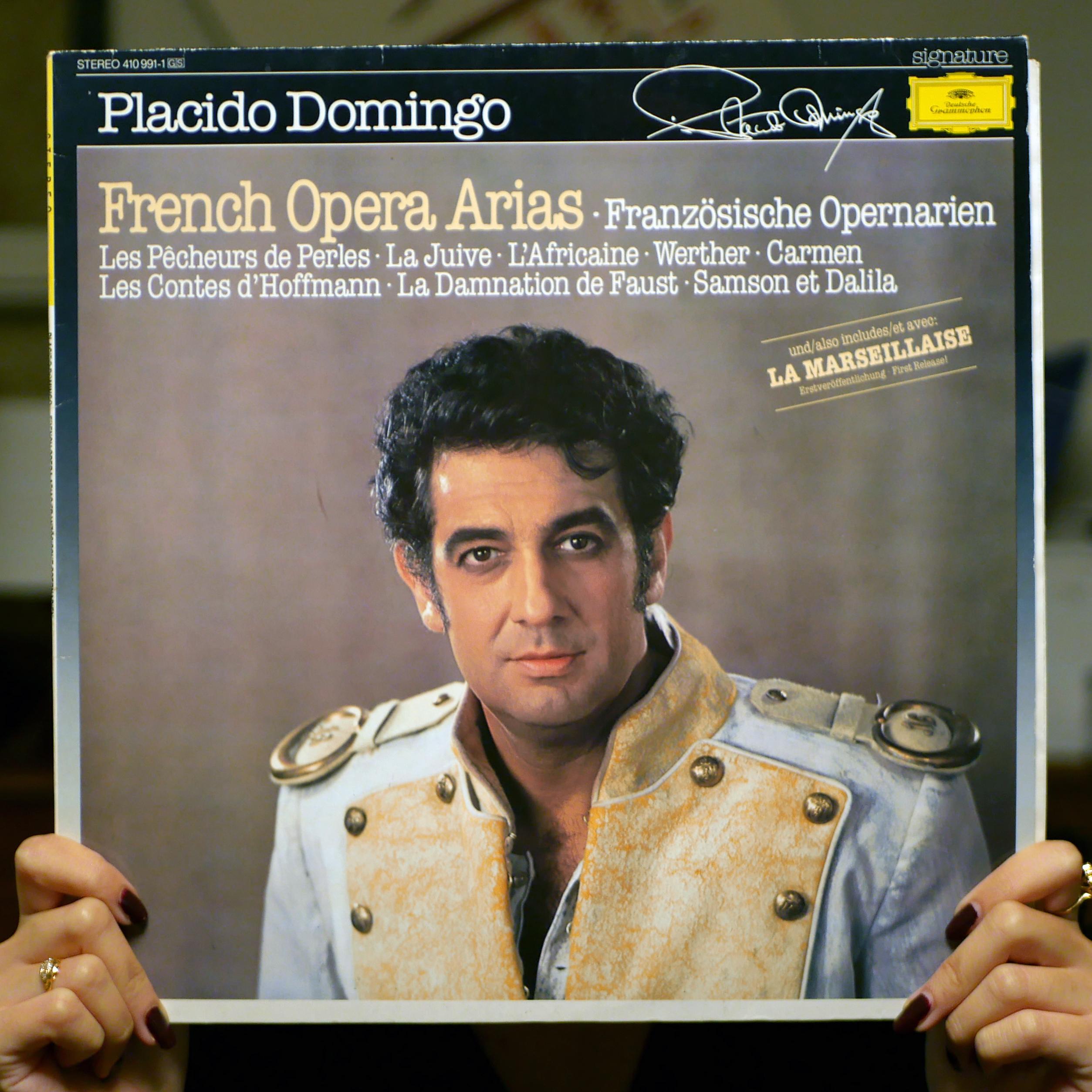 Placido Domingo – French Opera Arias [LP, 1985]