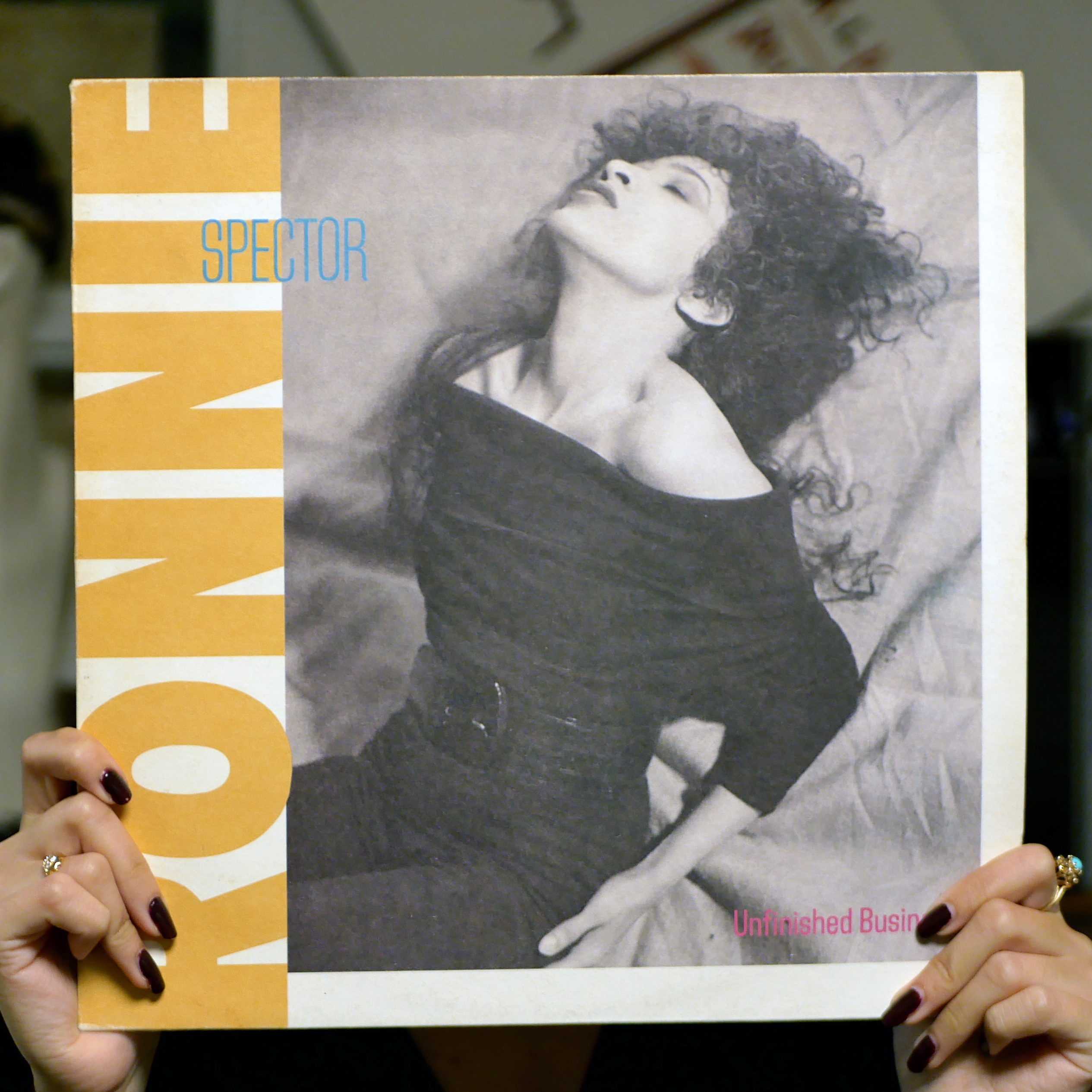 Ronnie Spector – Unfinished Business [LP, 1987]
